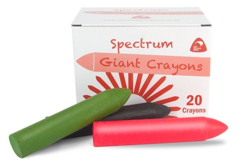 "Featured image for ""Spectrum Giant Size Hard Crayon 20 Pack"""